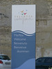 Sign at the waterfront in Valletta, Malta