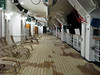 Promenade deck on MS Noordam