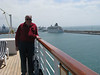 Dad in Civitavecchia