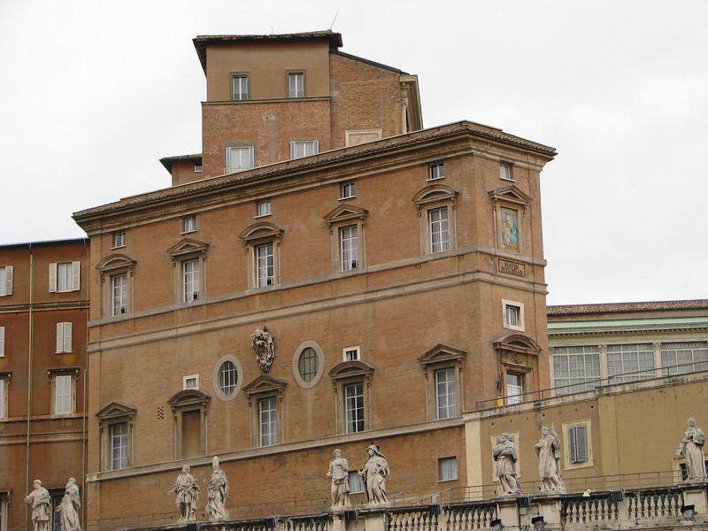 Pope John Paul II's apartments in Vatican