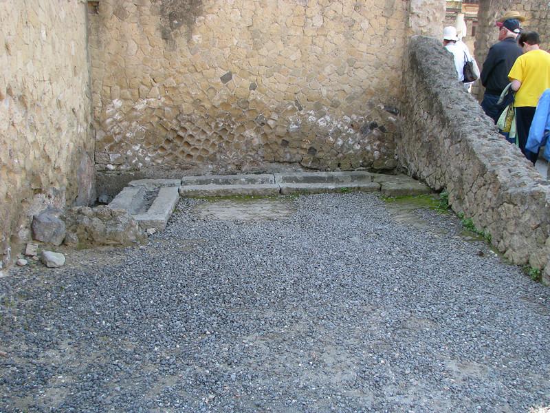 Bathroom in Herculaneum