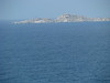 Straits of Bonifacio between Corsica and Sardinia