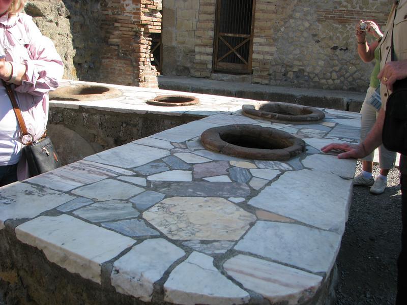 Bar in Herculaneum