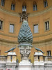 Pinecone in Vatican. Formerly a part of a fountain, this pinecone is 2,000 years old.