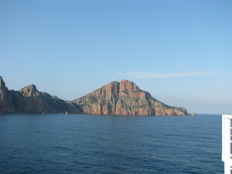 Les Calanches, rock formations on the west coast of Corsica