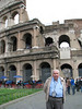 Dad at the Colosseum