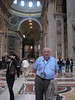 Dad in St. Peter's Basilica