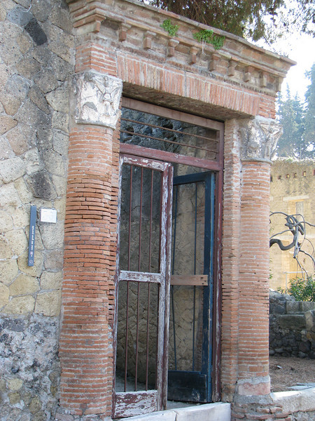 Doorway in Herculaneum