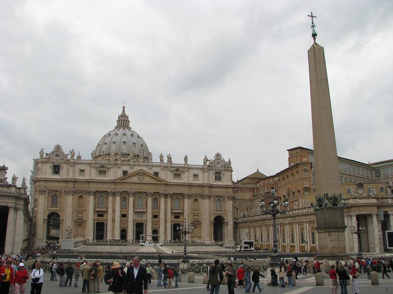 St. Peter's Basilica and Obelisk