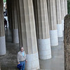 "Steve in the ""Chamber of 100 Columns"", actually only 96."