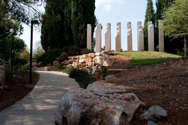 Yad VaShem Holocaust Museum -  Children's Memorial  This was very sad!