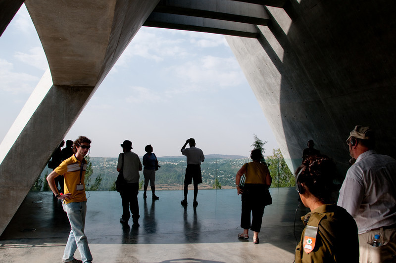 Yad VaShem Holocaust Museum - View from the Museum