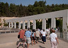 Yad VaShem Holocaust Museum - Leaving the museum for the bus