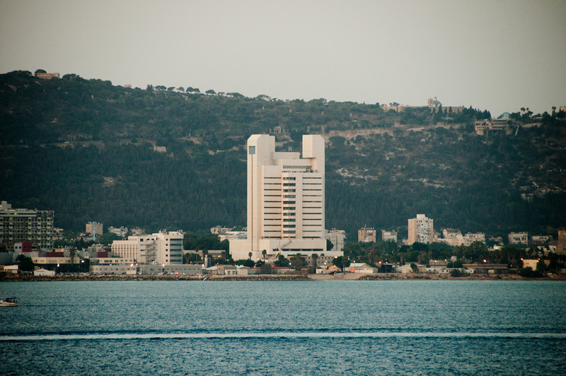 View from the ship of Haifa