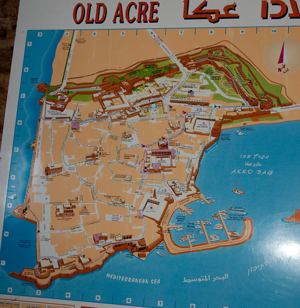 Map of Old Acre