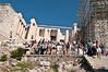 Acropolis - A popular place for tourists