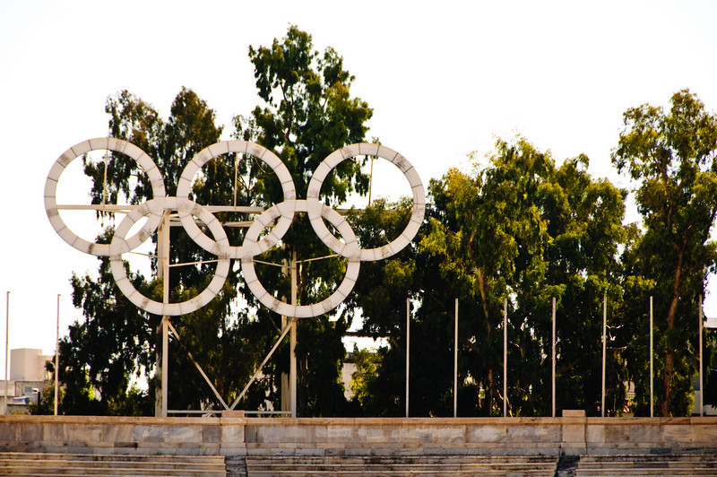 The Panathenaic Stadium hosted the 1st Olympic Games of the modern era, in 1896