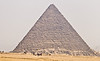 A total view of a Pyramid - You can get an idea how big they are by looking at the people in front of it