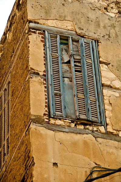 Interesting window shutter