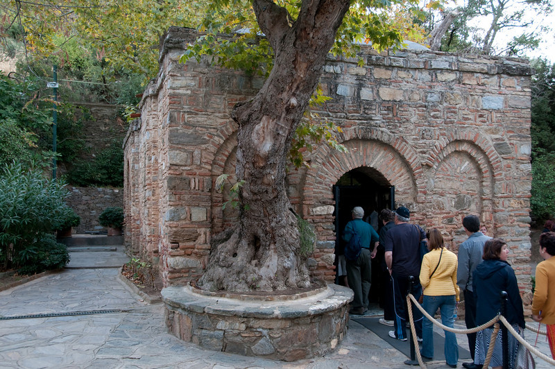 The entrance to the Virgin Mary's house