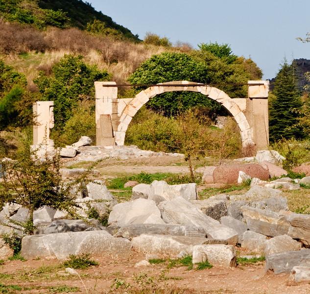 Polio Fountain in Ephesus