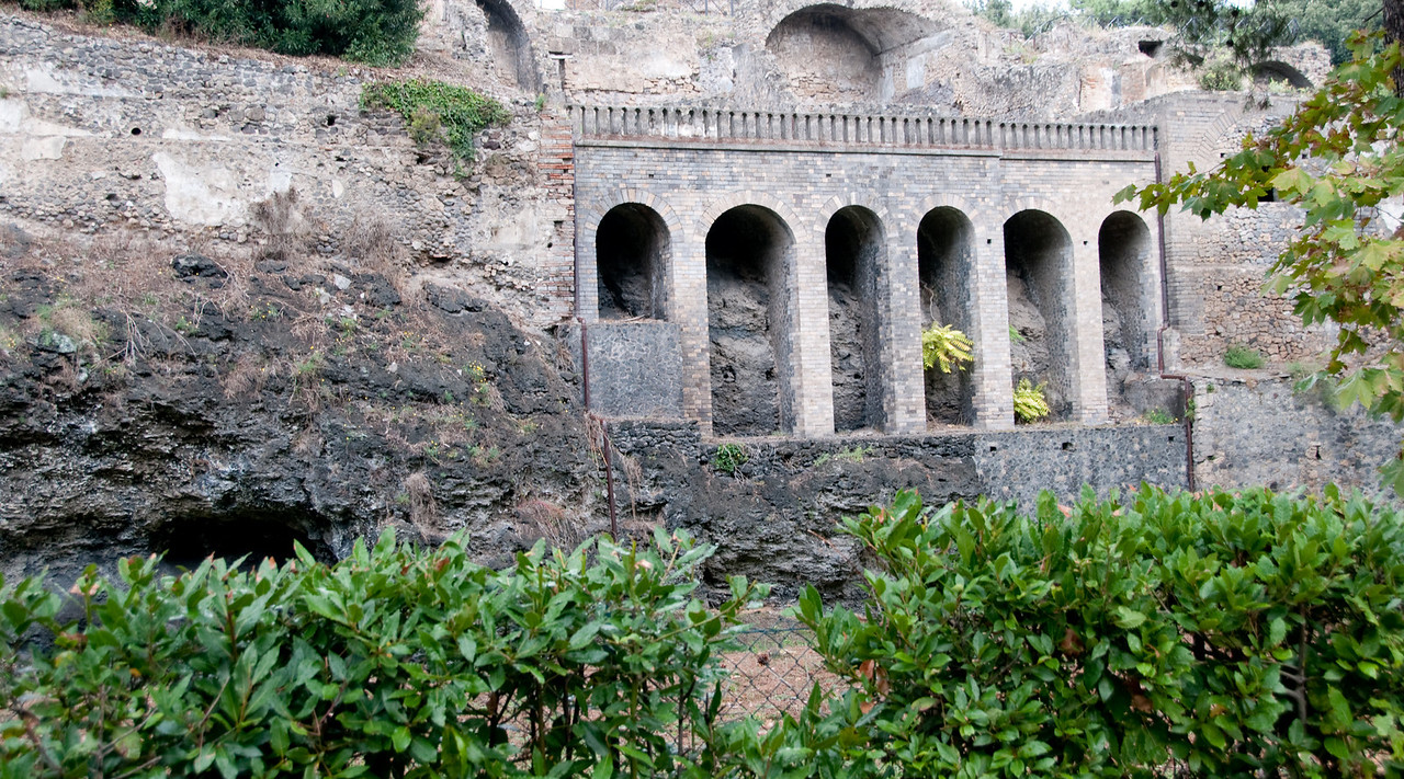 Ruins of Pompeii - Exterior view