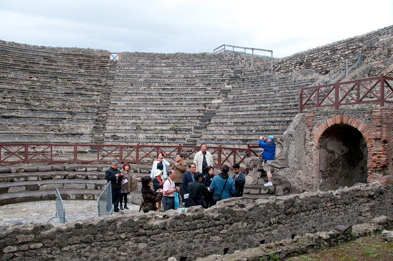 Ruins of Pompeii - The Amphitheater