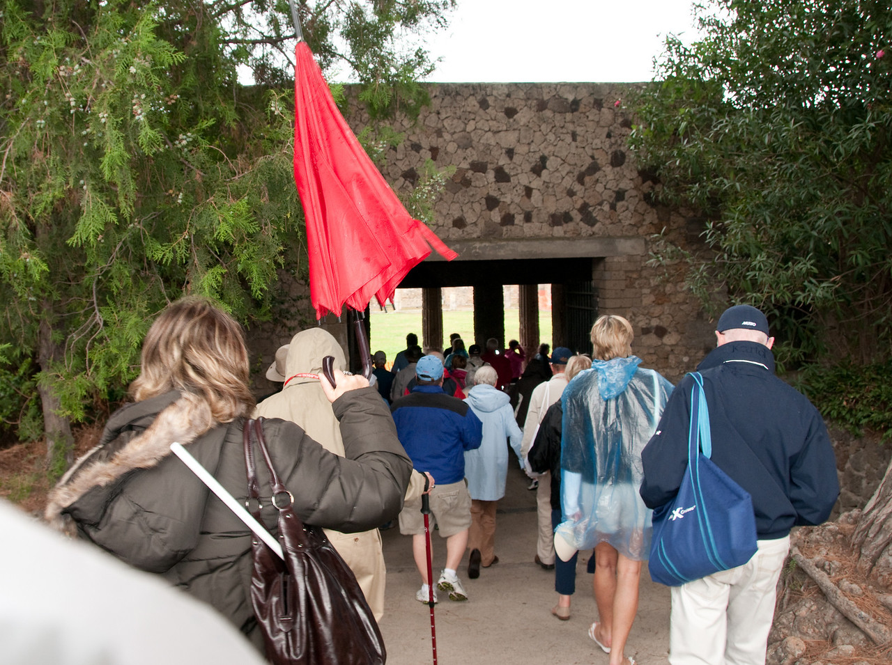 Ruins of Pompeii - Entrance for the tours