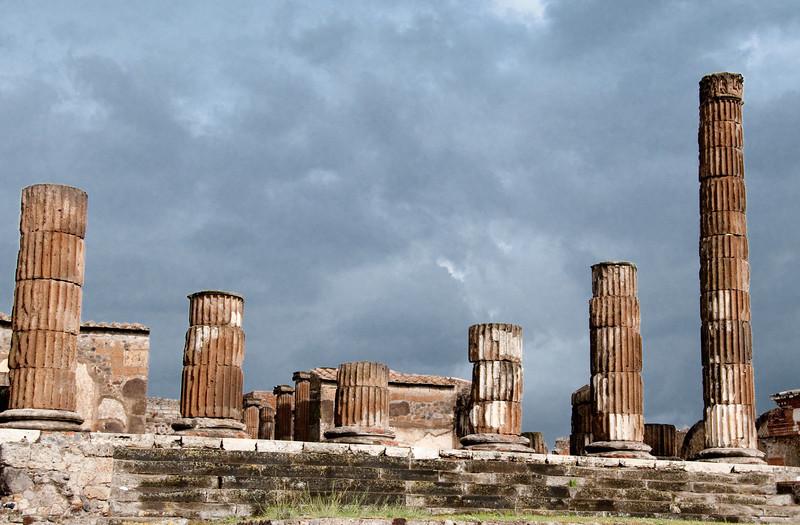 Ruins of Pompeii - Basilica interior