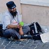 Local Rome beggar