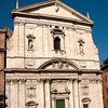 The Chiesa Nuova (Santa Maria in Vallicella) This church was composed of 2 vertical photos and put together using panorama technique in Photoshop
