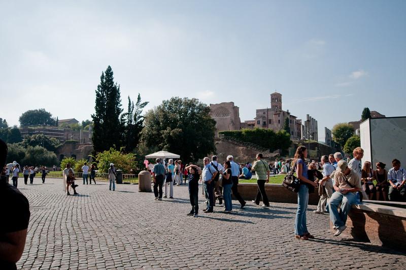 View around the Colosseum