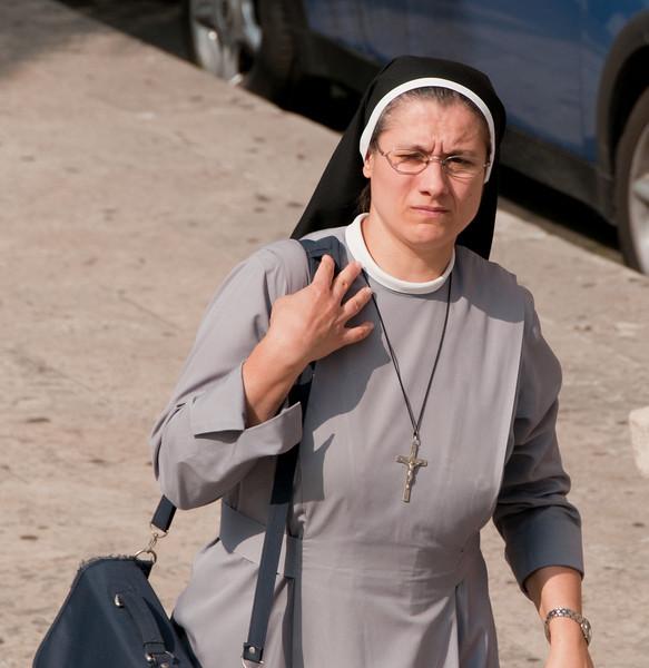 The Nun on the move