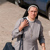 The Nun on the move