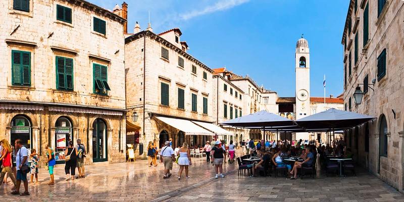 Stradun, Dubrovnik, Croatia, travel photography by travel photographer and panoramic photographer Matthew Williams-Ellis