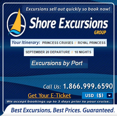 Princes Logo n Shore Excursions