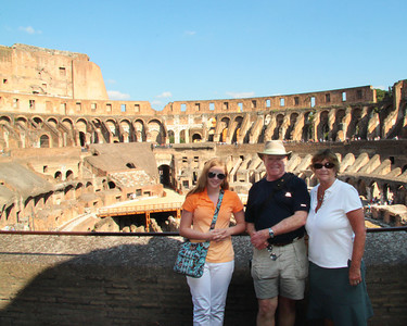 at the Colleseum