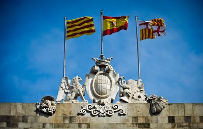 Flags of Catalunya
