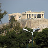 Athens, Greece - a view of the Acropolis