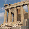Athens, Greece - a view of the Parthenon in the Acropolis