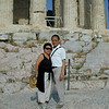 Athens, Greece - Peter and Beverly at the foot of the Parthenon