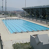 Athens, Greece - swimming pool of the 1994 Olympic Games