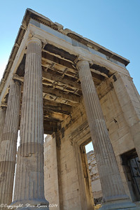 The Erechtheion, Athens, Greece