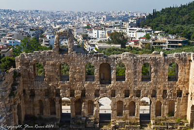 The Odeum of Herodes Atticus, Athens, Greece