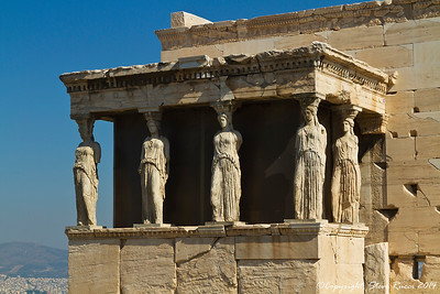 The Caryatid Porch of the Erechtheion