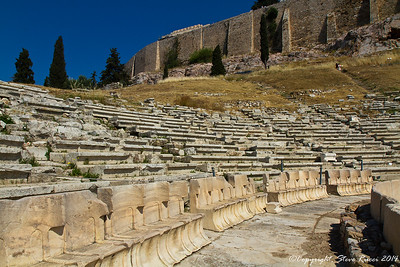 The Theatre of Dionysos, Athens, Greece