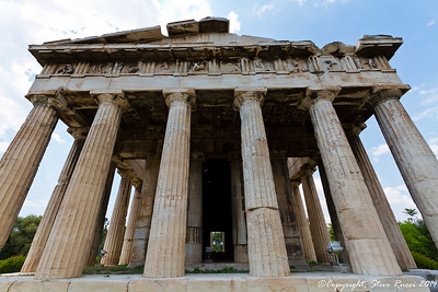 The Temple of Hephaistos, Athens, Greece