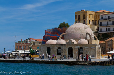 The Mosque of the Janissaries, Chania, Crete