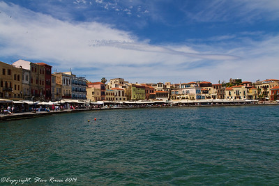 The Venetian harbour, Chania, Crete
