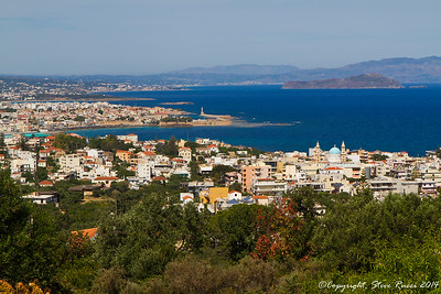 Overlooking Chania, Crete